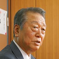 自由党代表 小沢一郎氏