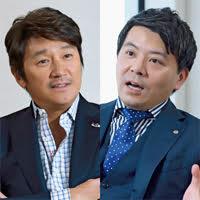 近藤真彦氏、今福洋介氏