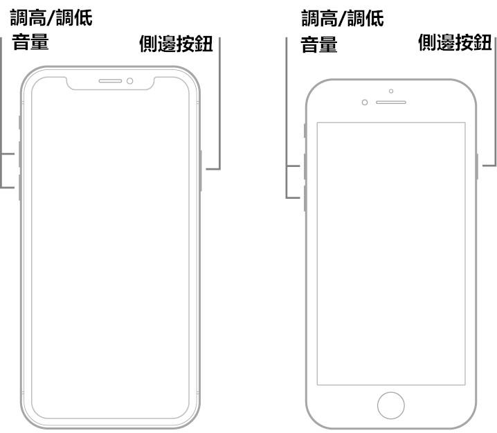 iPhone 8 重新開機及強制重開機的方法 - 銳力電子實驗室