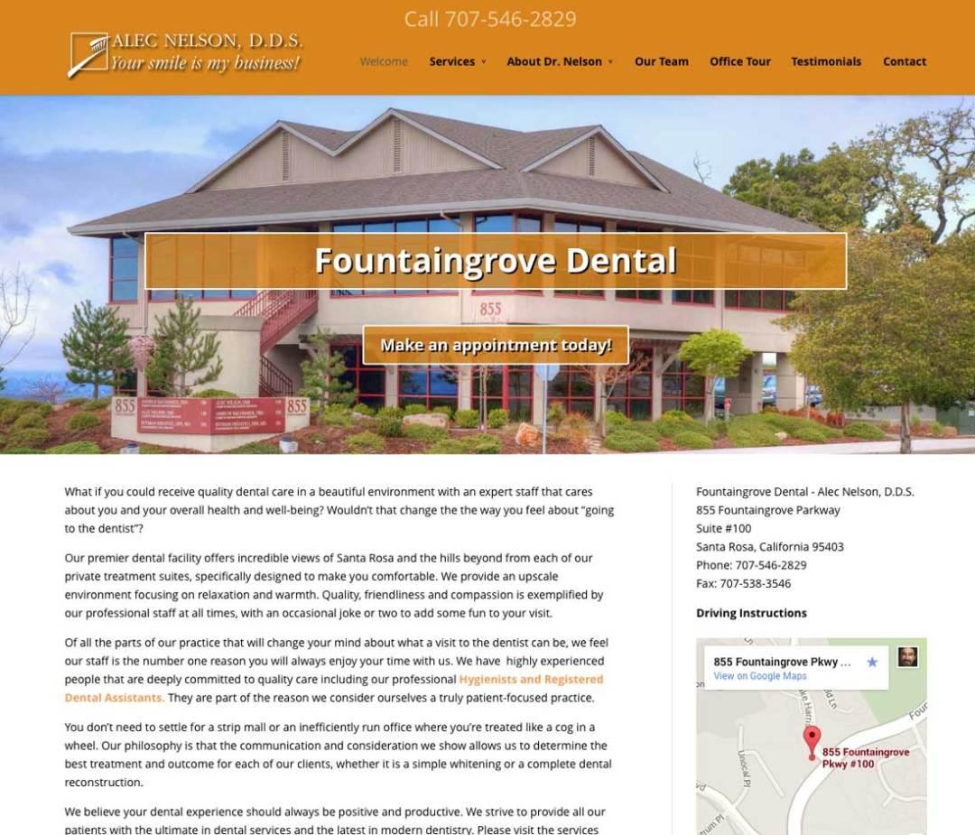 Fountaingrove Dental - Alec Nelson, D.D.S. Website