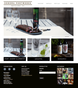 Sonoma Portworks Website
