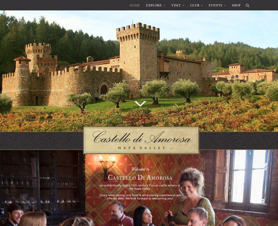 Castello Di Amorosa Website Link
