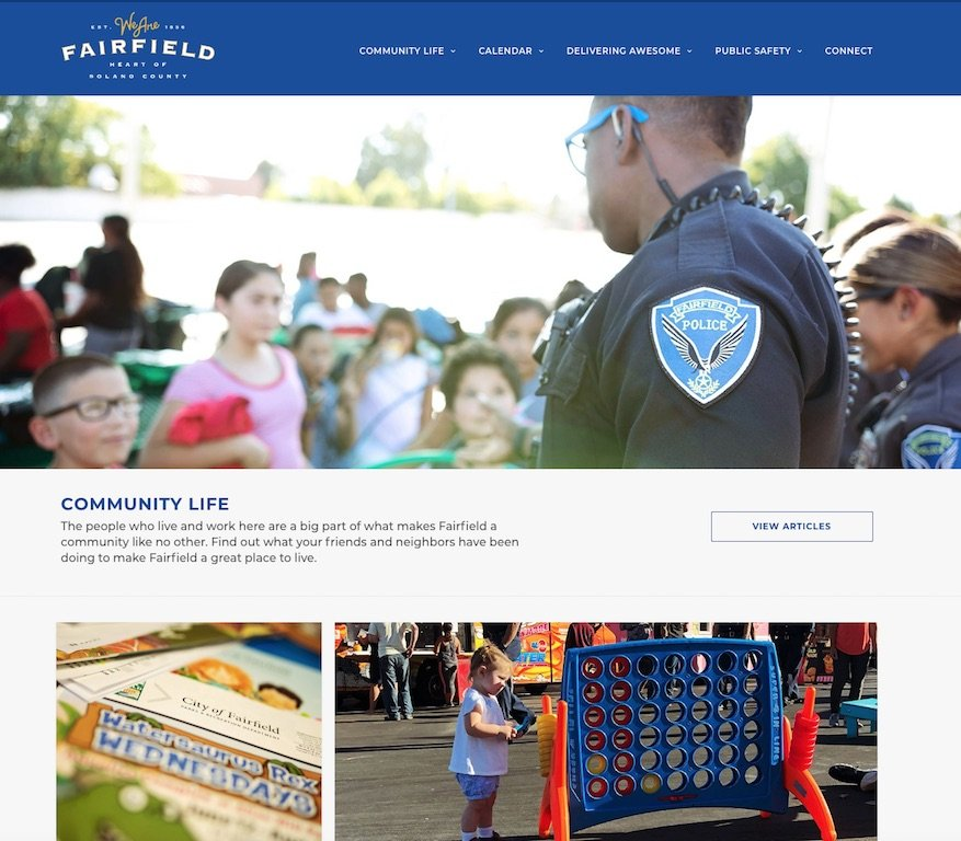City of Fairfield Home Page