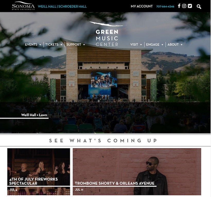 Green Music Center At Sonoma State University