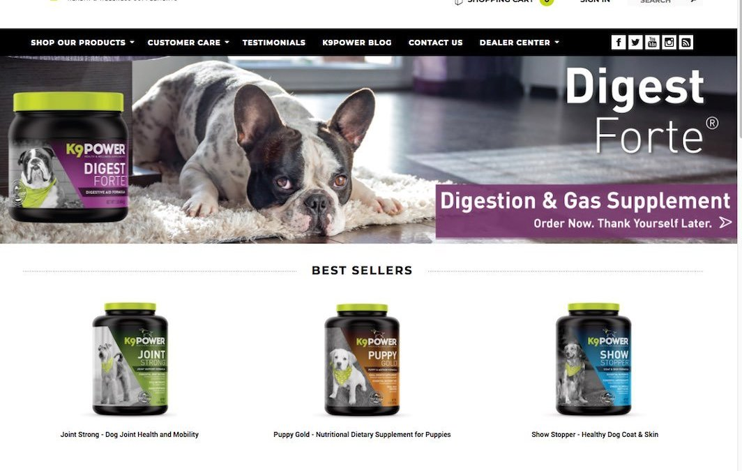K9-Power Health & Wellness Supplements