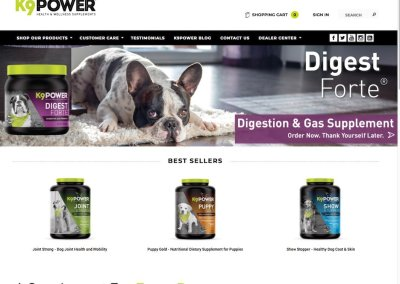 K9-Power Health & Wellness Supplements
