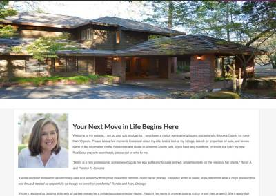 Robin Kallman, Sonoma Real Estate Agent