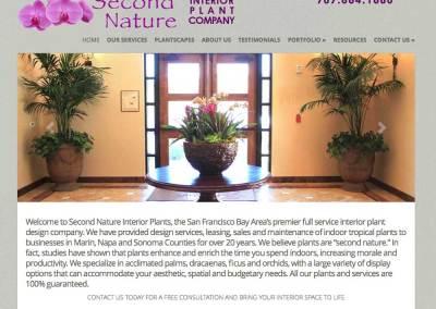 Second Nature Interior Plants