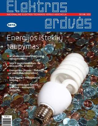 Žurnalas Elektros Erdvės Nr. 33 2013