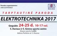 Paroda ELEKTROTECHNIKA 2017!