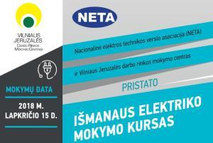 Išmanaus elektriko mokymo kursas @ Vilniaus Jeruzalės darbo rinkos mokymo centras  | Vilnius | Vilniaus apskritis | Lietuva