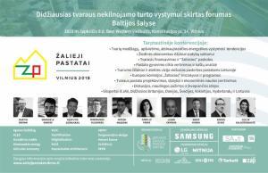 KONFERENCIJA ŽALIEJI PASTATAI - VILNIUS: KODĖL VERTA STATYTI ŽALIUOSIUS PASTATUS? @ BEST WESTERN VILNIUS | Vilnius | Vilniaus apskritis | Lietuva