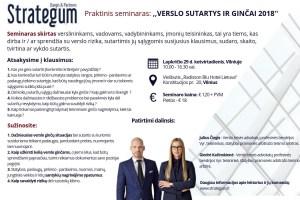 Verslo sutartys ir ginčai 2018: Statyba/Prekyba/Nuoma @ Vilnius | Vilniaus apskritis | Lietuva