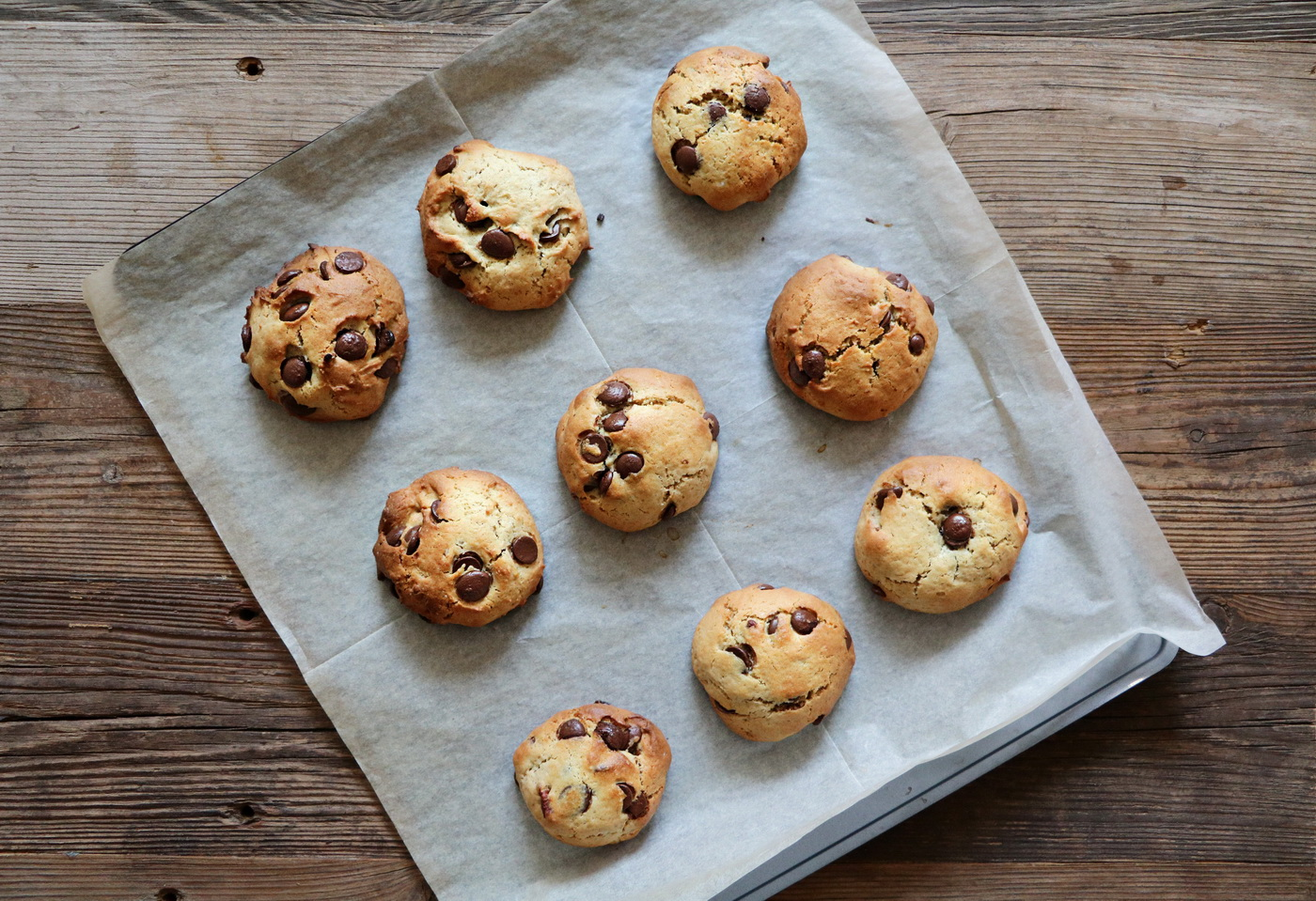 Monster Chocolate Chip Cookies