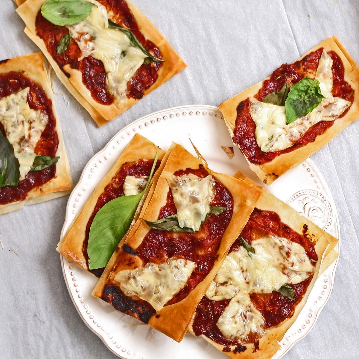 Phyllo Pizza Bites