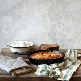 Broccoli and Feta Cheese Crustless Quiche