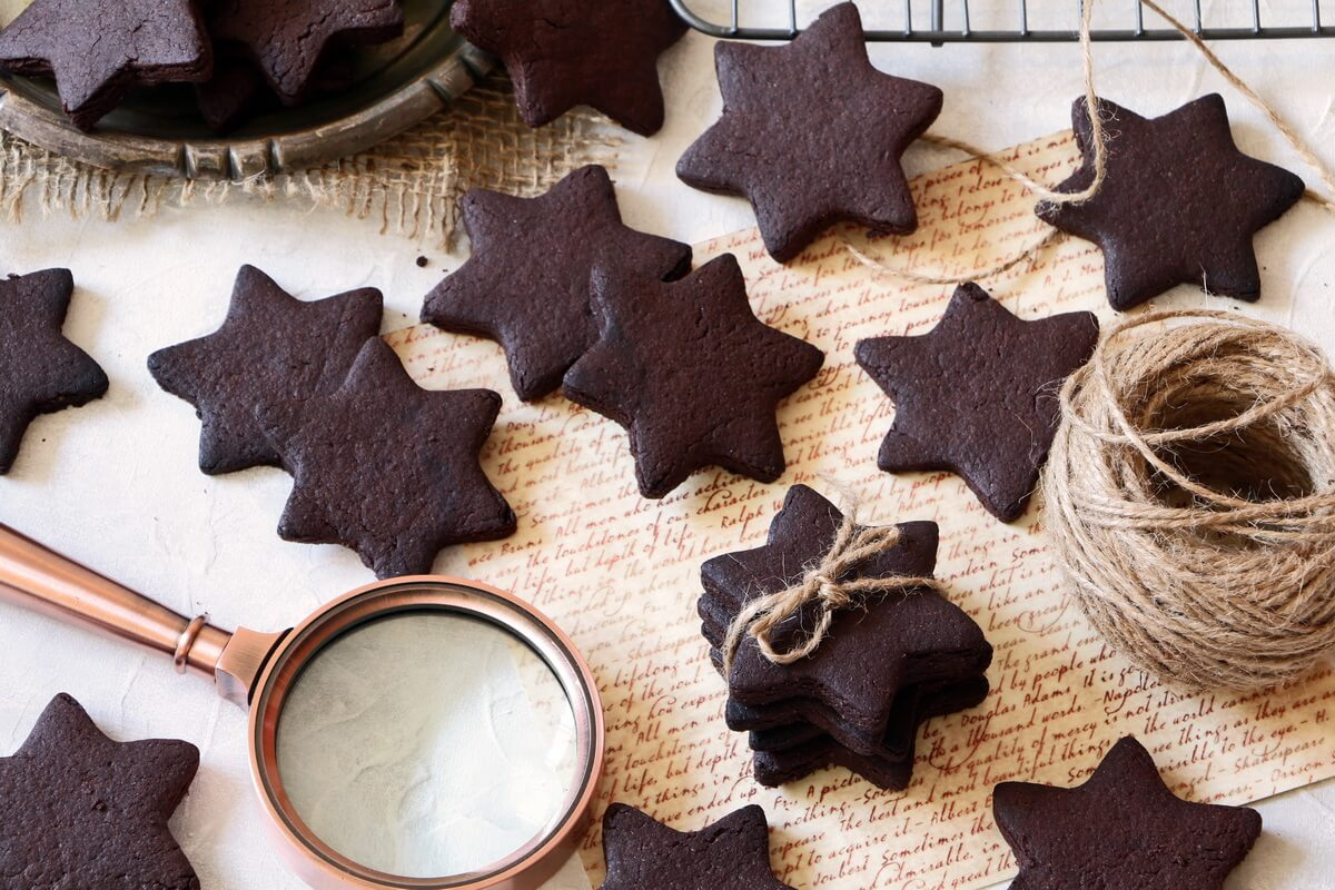 Amazing Chocolate Sugar Cookies