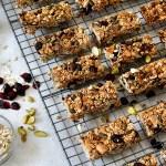 Healthy granola bars