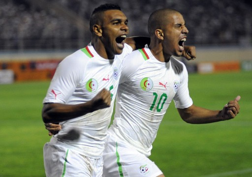 FOOTBALL :  Algerie vs Lybie - Eliminatoires - CAN2013 - 14/10/2012
