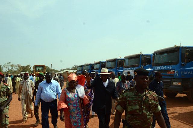 Depuis 2012, les travaux routiers de EBOMAF-Bénin sont à la grande satisfaction des plus hautes autorités et des populations bénéficiaires.