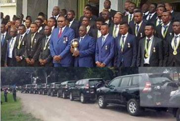CHAN : Kabila offre des 4×4 haut de gamme aux champions d'Afrique