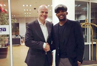 Football: le Suisse Gianni Infantino élu président de la Fifa