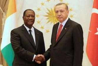 Côte d'Ivoire – Le président turc Recep Tayyip Erdogan en visite officielle à Abidjan, ce dimanche