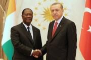 Côte d'Ivoire - Le président turc Recep Tayyip Erdogan en visite officielle à Abidjan, ce dimanche