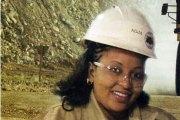 Adja, conductrice de Dumper à IAMGOLD Essakane