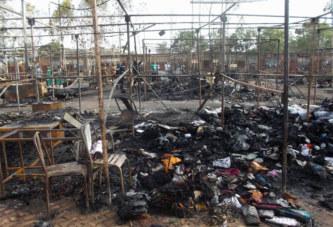 Burkina: Incendie sur le site de la foire de la Semaine nationale de la culture