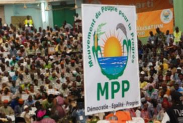 Attaques du poste d'Intagom: Le MPP apporte son soutien au gouvernement aux Forces de Défense et de Sécurité