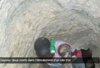 Gayerie: deux morts dans l'éboulement d'un site d'or