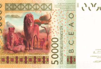 Exclusif : La BCEAO lance un nouveau billet de 50 000 francs CFA, le 30 Avril