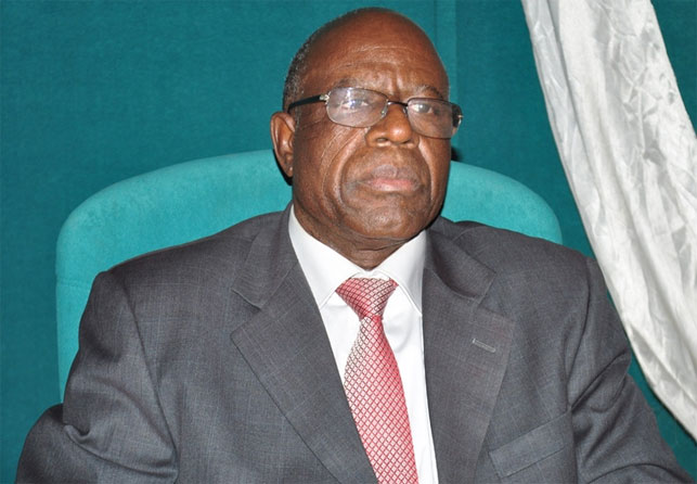Le ministre de l'Eau et de l'Assainissement, Niouga Ambroise Ouédraogo