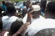 Bobo-Dioulasso Salia Sanou accueilli en héros
