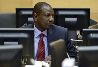 Poursuivi pour crimes contre l'humanité, William Ruto obtient un non-lieu devant la CPI