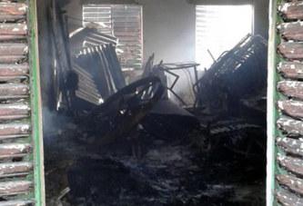 Broum-Broum: Le siège de la commission électorale incendié, le MPP accusé encore
