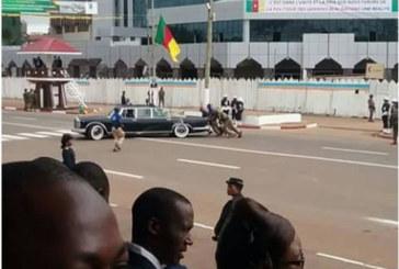 Fête nationale du Cameroun: Le véhicule de Paul Biya tombe en panne