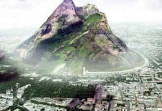 Une montagne artificielle pour créer la pluie