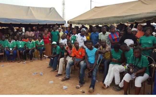 Les sympathisants et militants du parti n'ont pas marchandé leur mobilisation