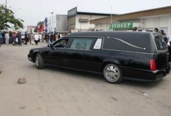 Côte d'Ivoire – Bingerville : Un corbillard tue une femme et son bébé et fait plusieurs blessés