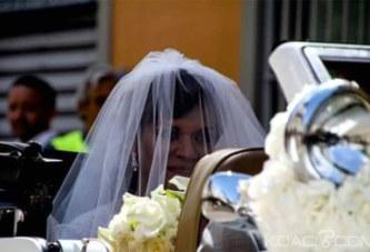 Cameroun: Samuel Eto'o et Georgette se marient devant le pape François 1er