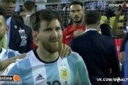 Lionel Messi, mauvais perdant ? Ou coup de Buzz ?