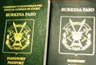CRISE DE PASSEPORTS AU BURKINA FASO : 27 129 livrets disponibles