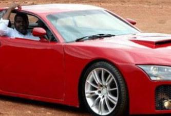 Un Nigérian fabrique une voiture de sport téléguidée via un smartphone