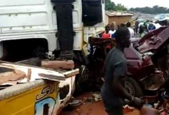 Côte d'Ivoire: Un camion lâché par ses freins fonce dans une cérémonie, des morts et blessés