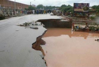 Burkina: A Ouagadougou, la Pluie rime avec inondations