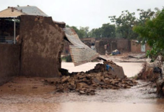 Inondations à Ouagadougou : 4 morts et 2 000 sinistrés