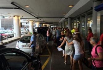 Crise de jalousie: elle met l'aéroport en alerte