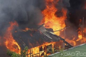 Madagascar: L'incendie accidentel d'une maison fait 38 morts dont 16 enfants